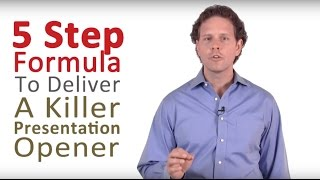 Download How to Do a Presentation - 5 Steps to a Killer Opener Video