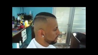 Download FADE ANTES e DEPOIS DEGRADE AMERICANO CORTES CABELOS MASCULINOS UNDERCUT SIDECUT Video
