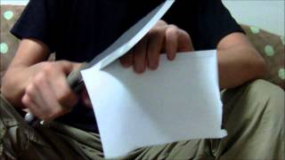 Download TOPS Tracker Knife Paper Cutting Test Video