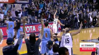 Download Marc Gasol Tips in the Shot for the Win! | Tissot Buzzer Beater | 11.08.16 Video