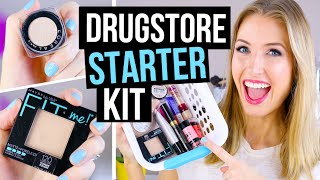 Download Beginner Makeup Tips & Starter Kit || Drugstore Faves! Video