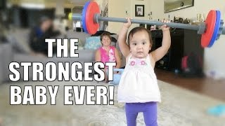Download THE STRONGEST BABY EVER!!! - July 14, 2015 - ItsJudysLife Vlogs Video