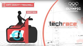 Download The Anti-Gravity Treadmill Aimed at Injury Recovery | The Tech Race Video