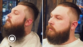 Download Bushy Beard Trimmed to Well Groomed | Cut and Grind Video