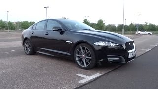 Download 2015 Jaguar XF 2.2D 200 R-Sport Start-Up and Full Vehicle Tour Video