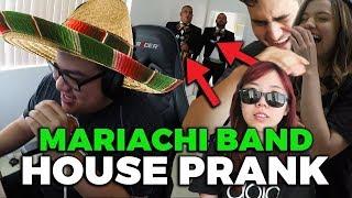 Download MARIACHI BAND HOUSE PRANK ft. LilyPichu Scarra Pokimane Video