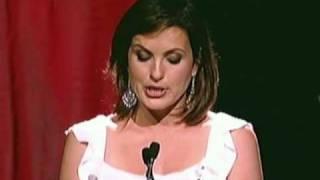 Download Mariska Hargitay receives a 2009 Gracie Award - Presented by Stephanie March Video