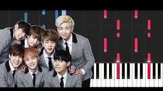 Download Bts Love Yourself Tear 'Singularity' (Piano Tutorial) Video