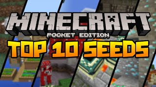 Download BEST 10 SEEDS FOR MINECRAFT PE! (Minecraft Pocket Edition) Video