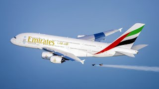 Download Emirates A380 and Jetman Dubai Formation Flight | Emirates Airline Video