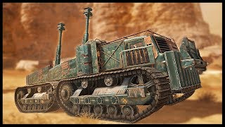 Download Crossout - MASSIVE DUAL ARTILLERY & QUAD SYNTHESIS! - Dawn Children Update - Crossout Gameplay Video