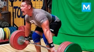 Download John Cena Set a New Deadlift Record (Workout) | Muscle Madness Video