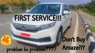 Download Honda Amaze problems explained & first service experience | Amaze 2018 petrol & diesel Video