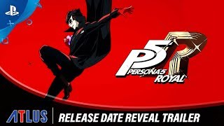 Download Persona 5 Royal - Release Date Reveal Trailer | PS4 Video