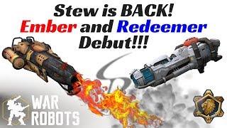 Download War Robots - Stew is BACK!!! Ember and Redeemer Debut!!! Video