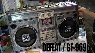 Download Defeat in the restoration of the SHARP Boombox GF-9696 Video