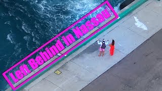 Download Couple Misses Cruise Ship Symphony of the Seas Nassau Bahamas Video