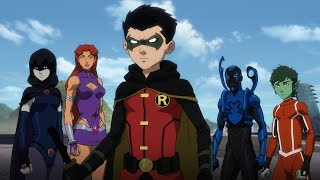 Download Justice League vs. Teen Titans - Official Trailer Video
