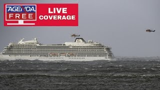 Download Norway Cruise Ship Passenger Rescue - LIVE COVERAGE Video