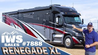 Download 2020 Renegade XL - 45' Bath and 1/2 - Freightliner Cascadia Chassis #7888 - IWS Motor Coaches Video