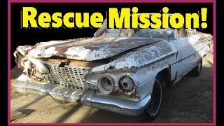 Download Saved From the Crusher! 1961 Plymouth Belvedere Hardtop V8 Coupe! Video