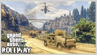Download GTA 5 ROLEPLAY - Military Convoy with Attack Helicopter Escort | Ep. 336 Civ Video