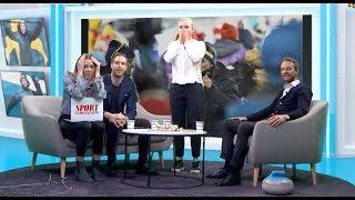Download Slik reagerte svenskene da Marit Bjørgen sikret OL-gull Video