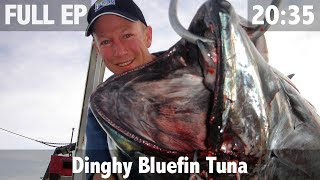 Download BLUEFIN TUNA ON A HANDLINE FROM A DINGHY Video