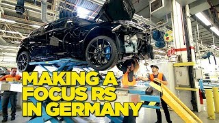 Download Making Our Own Ford Focus RS In Germany Video