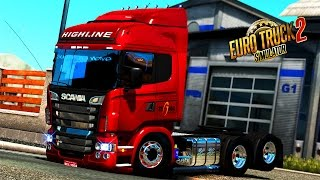 Download EURO TRUCK SIMULATOR 2│MOD│SCANIA HIGHLINE R440 EDIT BRASILEIRA Video