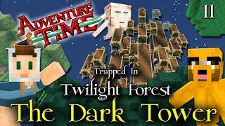 Download Adventure Time Minecraft : TRAPPED IN TWILIGHT FOREST - Ep 11 The Dark Tower - Ur-Ghast Video
