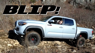 Download Here's How The 2017 Toyota Tacoma TRD Pro Fares Against A Jeep Wrangler Off-Road | BLIP! Video