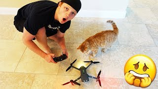 Download FIRST TIME FLYING A DRONE *BAD IDEA* Video