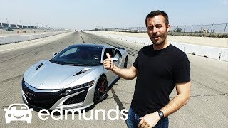 Download 2017 Acura NSX | Track Test: How Fast Is It? | Edmunds Video