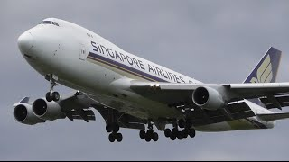 Download Summer Afternoon Plane Spotting at London Heathrow Airport - Arrivals RW27L Video