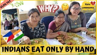 Download WHY INDIANS EAT ONLY BY HAND II Filipino Indian Family Vlog # 141 Video