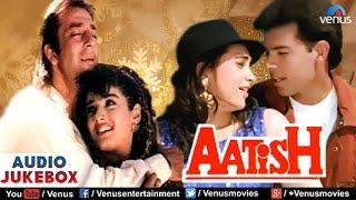 Download Aatish Audio Jukebox | Sanjay Dutt, Raveena Tandon, Karishma Kapoor | Video