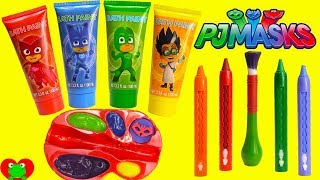 Download Preschool Learn Colors with PJ Masks Paints Catboy, Owlette, and Gekko Video