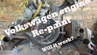 Download Volkswagen Beetle Engine re-paint. Video