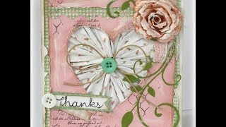 Download Gathered Paper Card Tutorial Video