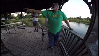 Download Old Guy Kicks Us Off A PUBLIC Pond...Ridiculous Video