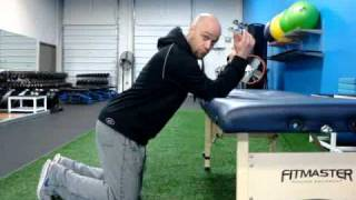 Download Thoracic Spine Extension/Lat Stretch Video