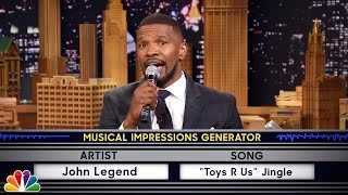 Download Wheel of Musical Impressions with Jamie Foxx Video