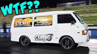 Download 450 Horsepower Turbo Van - Caught Us Off Guard! Video