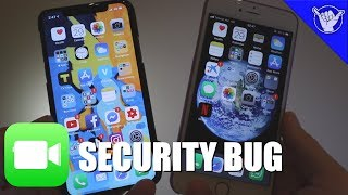 Download Major FaceTime security bug found! - SPY on anyone Video