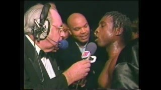 Download Benn-McClellan post-fight interview Feb 1995 Video