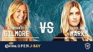 Download Stephanie Gilmore vs. Caroline Marks- Quarterfinals, Heat 1 - Corona Open J-Bay 2019 Video