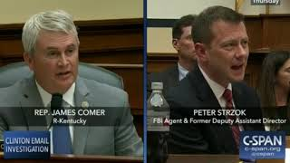 Download 7-12-18 James Comer (R-KY) Questions Strzok Video
