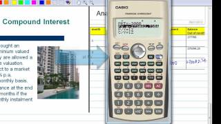 Download Compound Interest with CASIO Financial Calculator Video