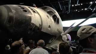 Download [HD1080p50] NASA Space Shuttle Atlantis Exhibit (Shuttle Reveal), Kennedy Space Center, Florida 2013 Video